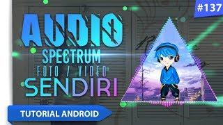 Video Cara Membuat Audio Spectrum dengan Background Foto / Video kita Sendiri | Tutorial Android #137 download MP3, 3GP, MP4, WEBM, AVI, FLV Agustus 2018