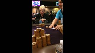 Poker pro fights security in Orleans Vegas