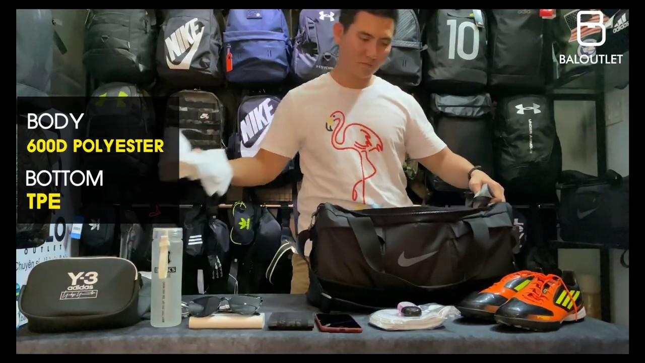 [REVIEW NHANH] Túi trống Nike Vapor Power_cách chuẩn bị đồ đi du lịch/công tác từ 3-5 ngày | Bao quát các thông tin liên quan đến túi đi du lịch chính xác nhất