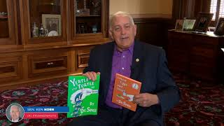 Sen. Horn: March is Reading Month |