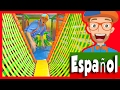 El Patio De Juegos Cubierto Con Blippi Español Aprende Los Colores Y Más mp3