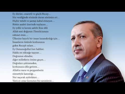 reise quotrecep tayyip erdoğana şiirquot