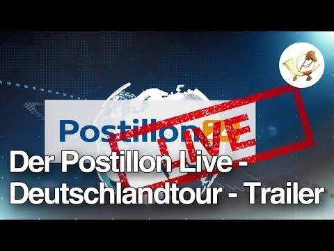 [Postillon24] Der Postillon LIVE - Deutschlandtour - Trailer