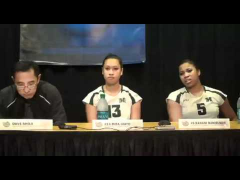 University of Hawaii Post Game Press Conference 12-2-11