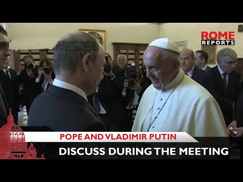 Pope Francis and Vladimir Putin discuss Ukraine and Middle East during meeting