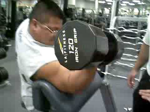 Preacher Curls Dumbell Curl 120 Youtube