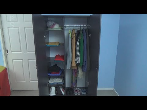 How to Make Wardrobe / Closet. Work with Melamine. DIY Closet