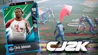 98 SPEED CHRIS JOHNSON!! CRAZY FAST   MADDEN 18 ULTIMATE TEAM GAMEPLAY EPISODE 67 2017 Video