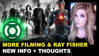 Snyder Cut HBO Max - Additional Photography Confirmed, Ray Fisher Thoughts