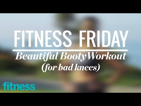 Booty Workout for People with Bad Knees | Fitness