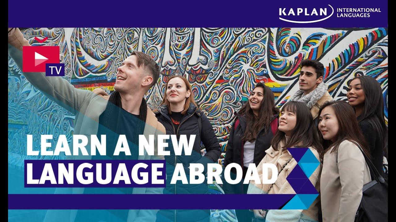 Learn A New Language Abroad Kaplan International Languages Youtube