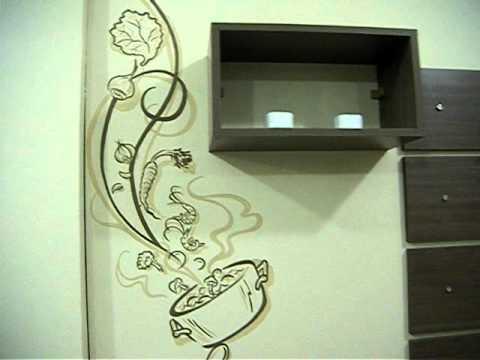 Kaza interiores pintura decorativa em paredes por - Pinturas decorativas en paredes ...