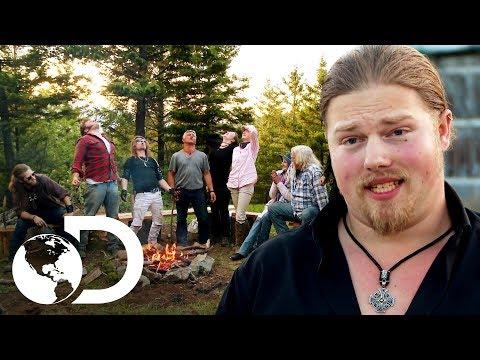 ¡Toda la familia Brown junta otra vez en un nuevo hogar! | Alaska: Hombres primitivos