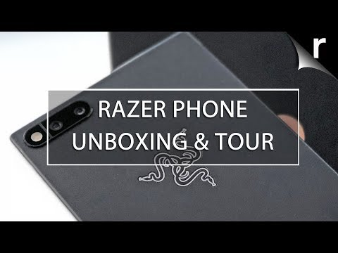 Razer Phone Unboxing, Setup & Full Hands-On Review