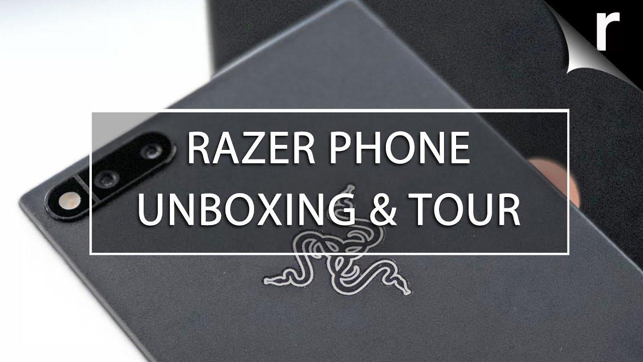 Razer Phone - Auspacken und überprüfen