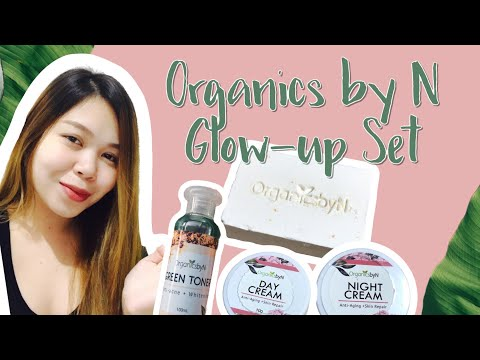 ORGANICS BY N PRODUCT INTRODUCTION   Organic Glow-up Set