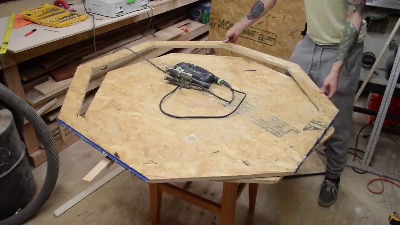 Build Poker Table Woodworking