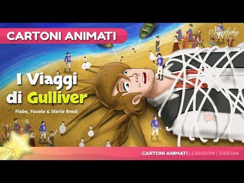 I Viaggi di Gulliver Nuevo Cartone Animati | Storie per Bambini