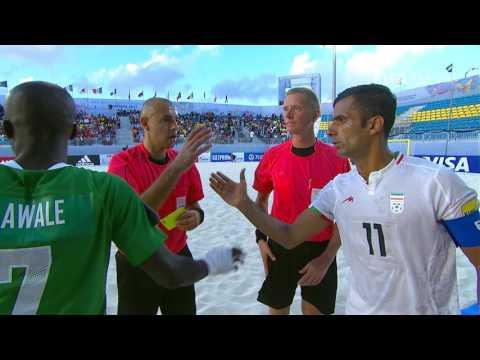 Match 19: Nigeria v Iran - FIFA Beach Soccer World Cup 2017