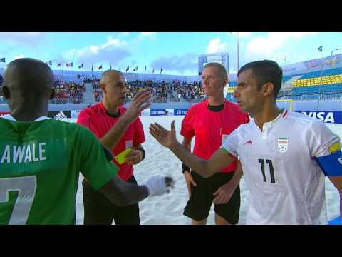 Match 19: Nigeria V Iran - FIFA Beach Soccer World Cup 2017