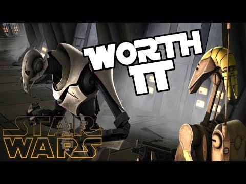 5 Cheeky Battle droids that died pissing off Grievous