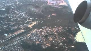 Landing in Takoradi Sekondi Airport - Ghana
