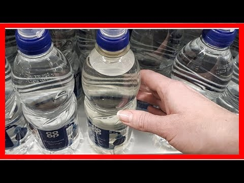 9b2fc4f138 British supermarket switches to dirty-looking plastic water bottles ...