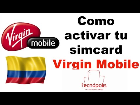 Activación Simcard Virgin Mobile Colombia