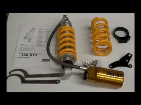 GROM SF Ohlins Shock HO611 HO 611 - Comparison - What's the Difference, HardRacing