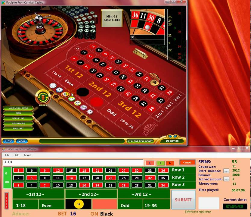 Online roulette cheating software