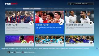 Pro Evolution Soccer 2017 Fail to play ONLINE