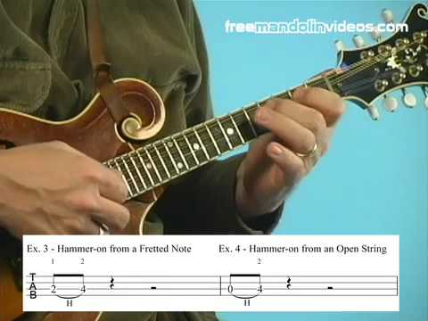 How to Read Mandolin Tab (Part 2) - Slides, Hammer-ons & Pulloffs