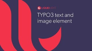 TYPO3 text and image element