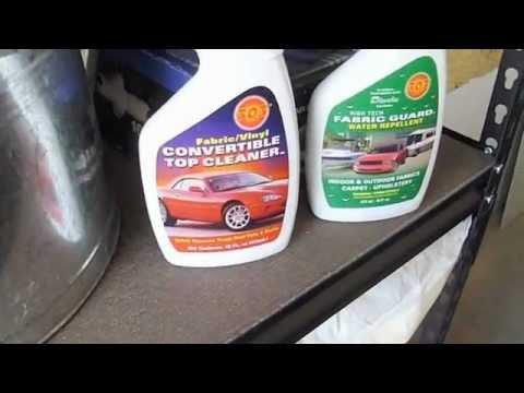 Convertible Roof Water Repellent