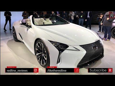 Lexus LC Convertible Concept – Redline: First Look – 2019 NAIAS