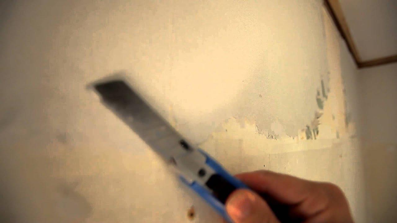 Sparkle en ujevn vegg - steg for steg