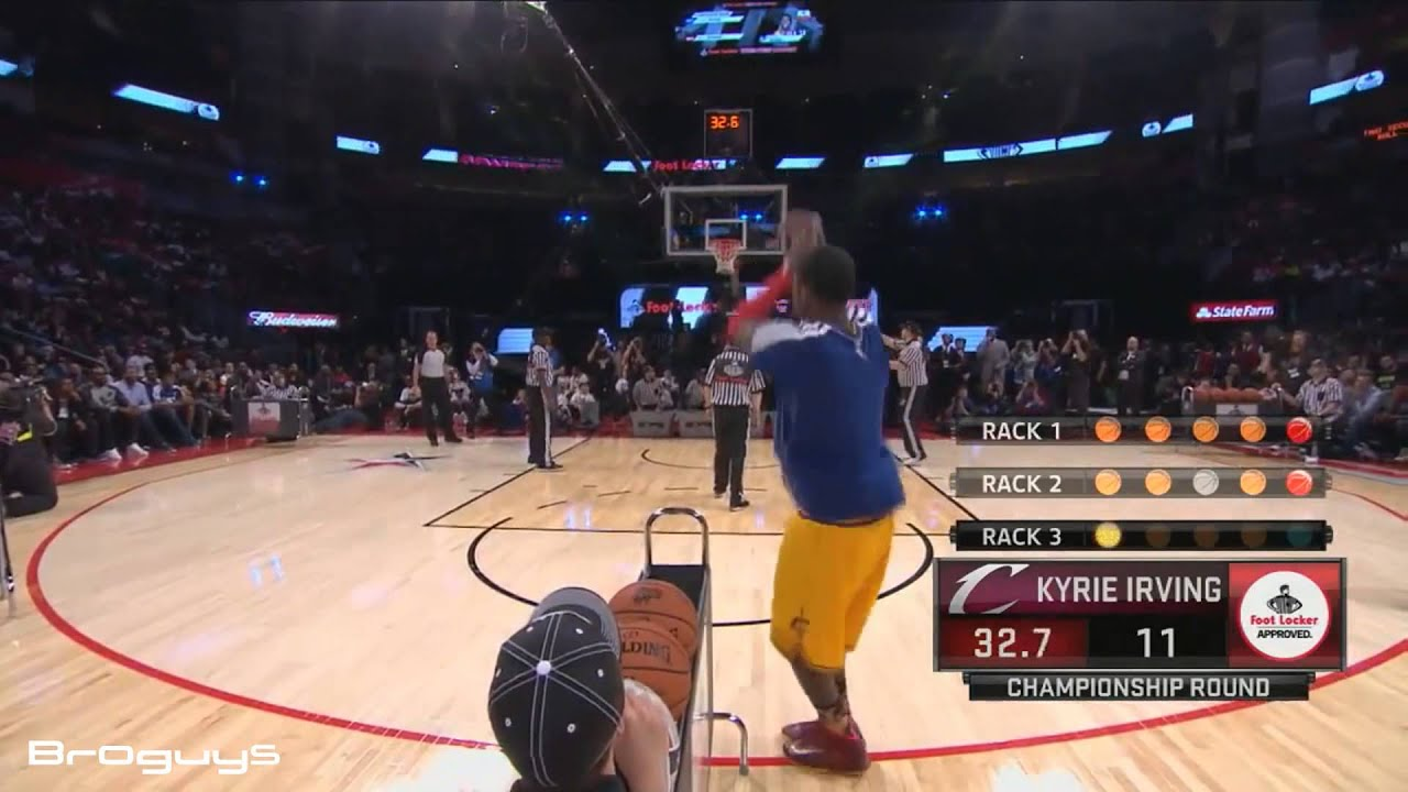Kyrie Irving Shooting Form HD - YouTube
