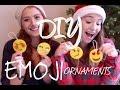 DIY Emoji Ornaments with Elena!