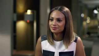 alesha dixon @ The Hot Desk