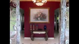 Home Tour of 4,000 sq ft Spanish Style home for Sale on 11 hectares near Volcan, Panama