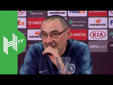 Maurizio Sarri: How Hazard reacted to being rested against Frankfurt