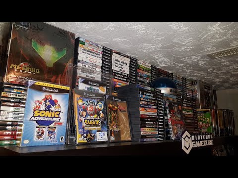 558 Gamecube games! Complete North American Set. Rare box sets, 2 packs and Variants!
