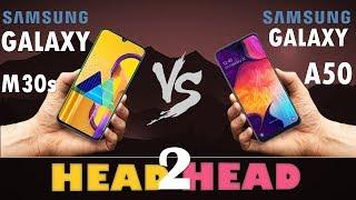 Samsung Galaxy M30s VS Samsung Galaxy A50
