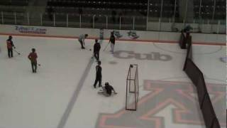 Angry Carrots Broomball Game (02-21-10) Part 1