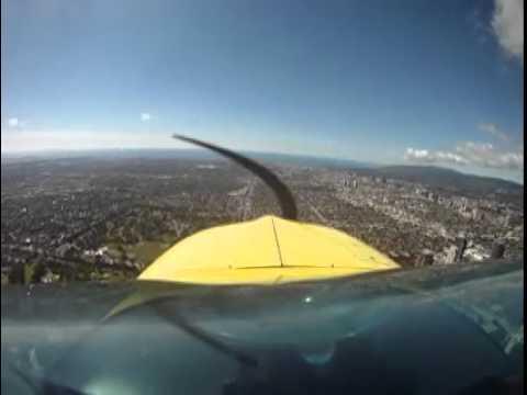 Grumman No-flap Landing SMO Rwy21