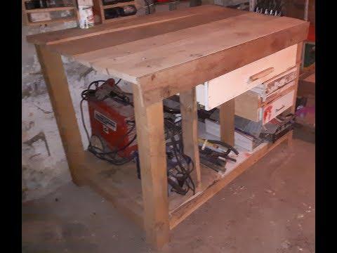 Kako napraviti radni stol za radionu|DIY|Uradi sam