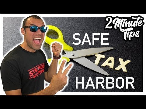 2 Minute Tax Tip Easy Fast Tax Deduction On Property And Equipment Using IRS De Minimus Safe Harbor