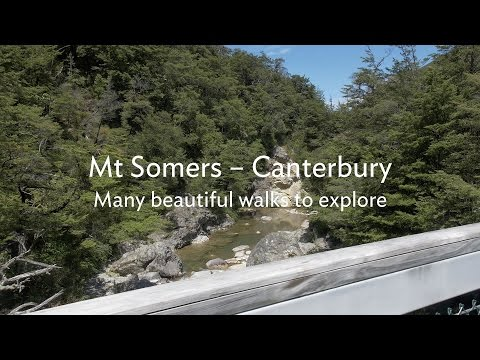 Walk Canterbury - Mt Somers