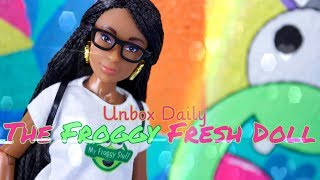 Unbox Daily: The Froggy Fresh Doll PLUS DIY Mini Art Room