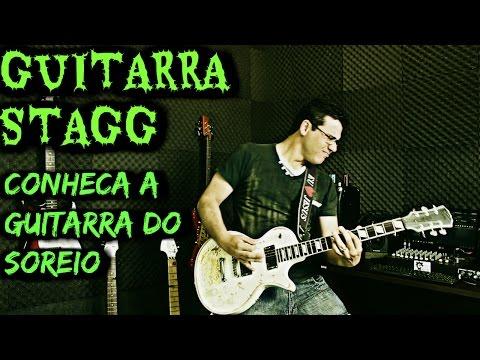 Guitarra Stagg Lh 400 Wh Review ( GUITARRA DO SORTEIO )